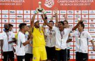 Corinthians goleia Santos e conquista Campeonato Paulista de Beach Soccer