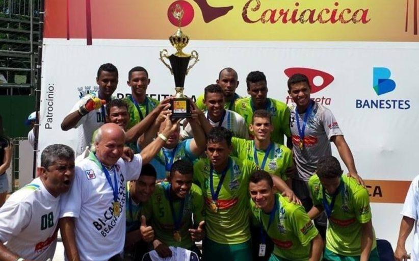 Inscrições abertas para a Seletiva do 17º Campeonato Estadual de Beach Soccer (ES)