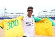 Mais de 300 jogos e mais de 300 gols pelo Brasil... Parabéns, 'Lenda' Jorginho!