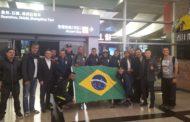 Depois de 45h de viagem, Brasil chega a Quanzhou para Grand Prix Internacional